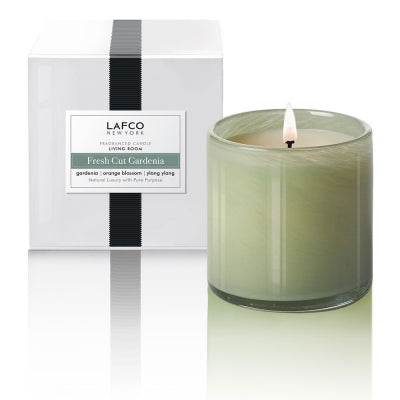 Fresh Cut Gardenia/ Living Room Candle