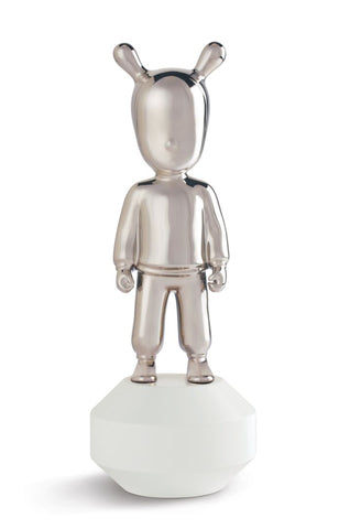 The Silver Guest Figurine. Small Model.