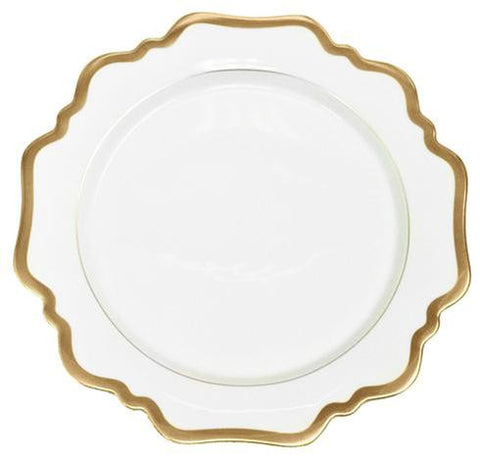 Antique White w/ Gold Bread & Butter Plate