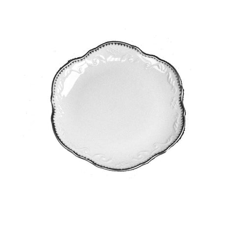 Simply Anna Platinum Bread & Butter Plate
