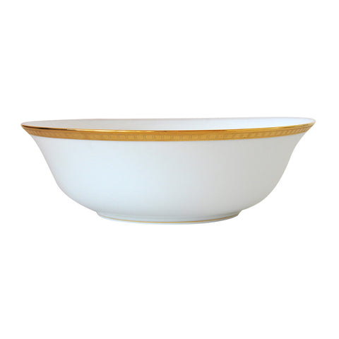 Athena Gold Salad Bowl 10