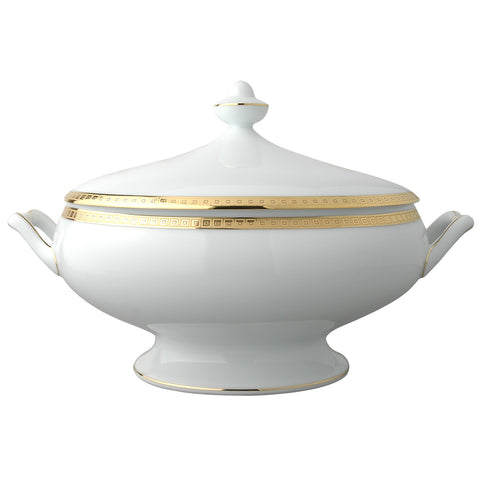 Athena Gold Soup Tureen 2qt