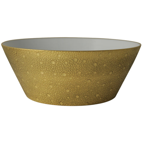Ecume Gold Salad Bowl 8""
