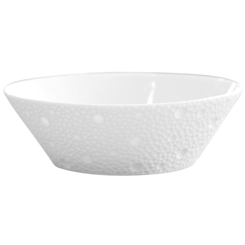Ecume White Fruit Saucer/ High Candy Dish