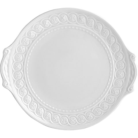 Louvre Cake Plate with Handles Round 11