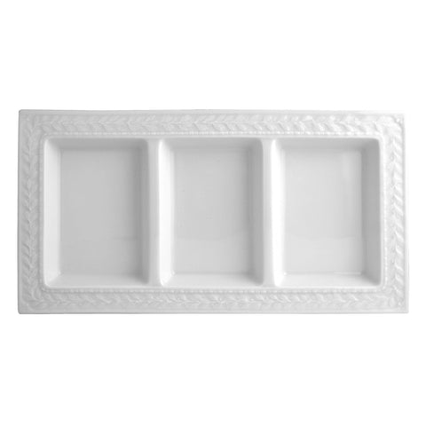 Louvre Three-Comparment Tray 7