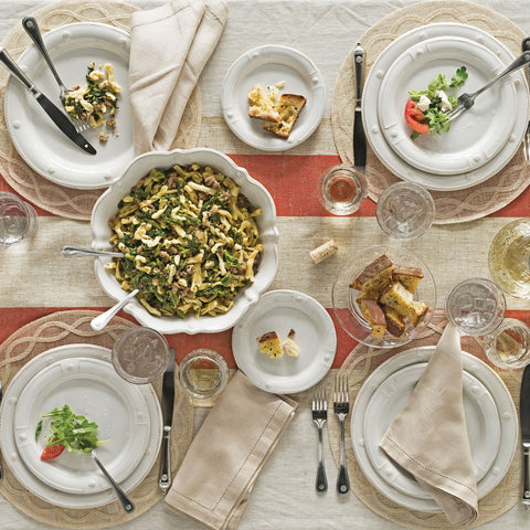Tuileries Garden Natural Round Placemat