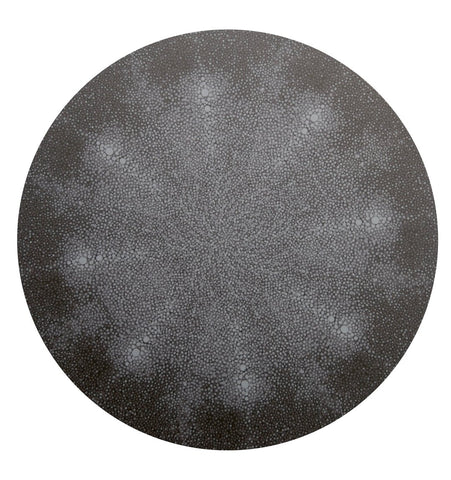 Shagreen Black Placemat