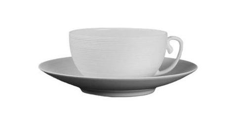 Hemisphere White Breakfast Saucer