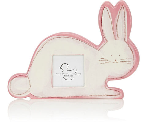 Bunny Character Picture Frame Pink