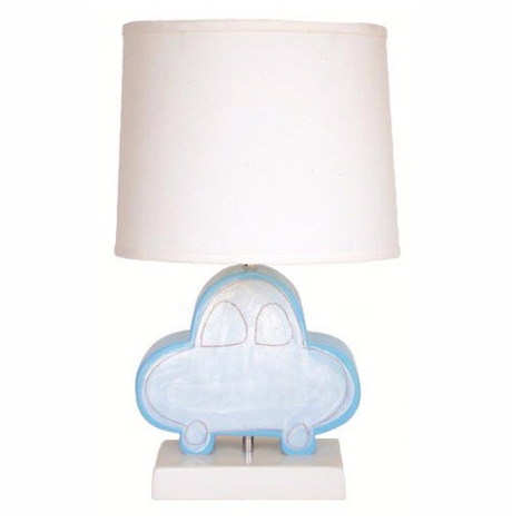 Car Character Figure Lamp Blue