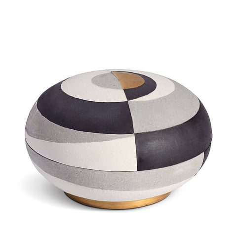 Cubisme Round Box - Large