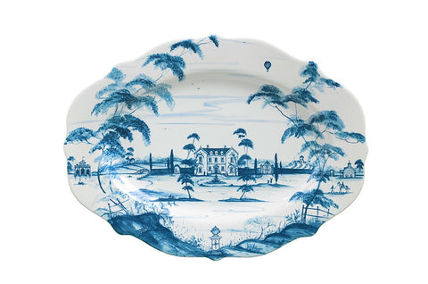 Country Estate Delft Blue 18.5