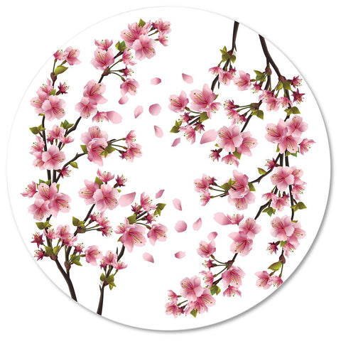 Cherry Blossom Print Placemat, Set of 4