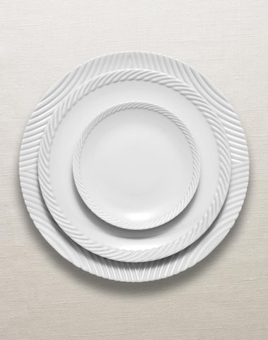 Corde White Dinnerware