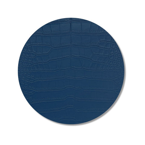 Blue Croc Print Placemat, Set of 4