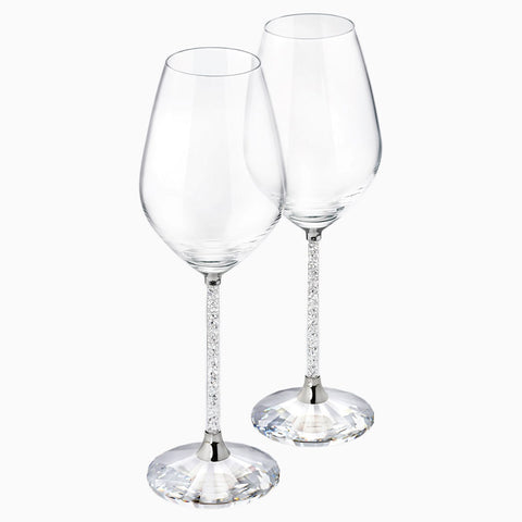 Crystalline Wine Glass Pair