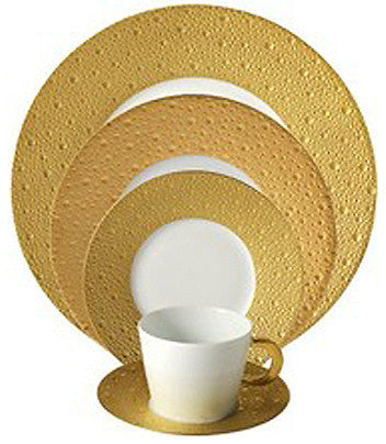 Ecume Gold Dinnerware