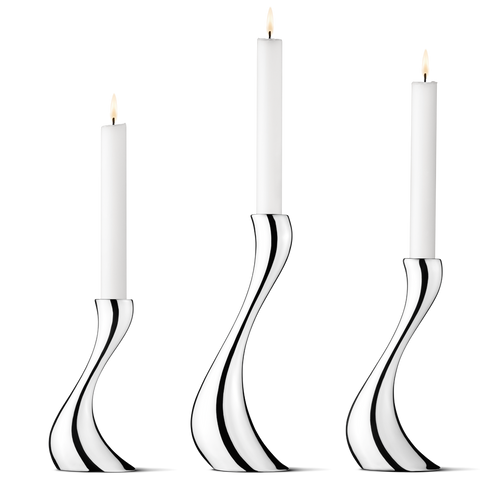 Cobra Candleholder, Set of 3