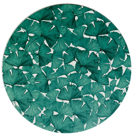 Gingko Placemat Green/White