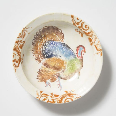 Gather Turkey Medium Bowl