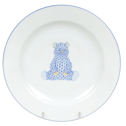 Baby Blue Bear Plate