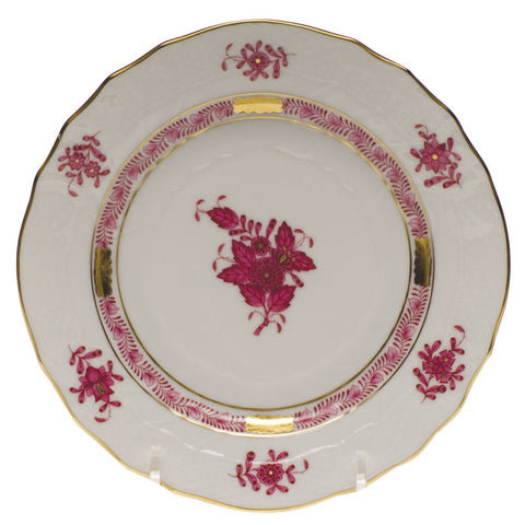 Chinese Bouquet Raspberry Bread & Butter Plate