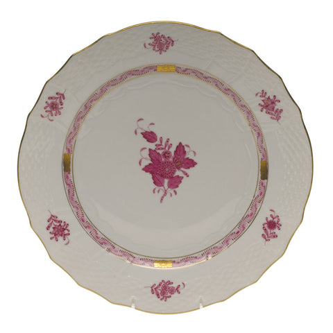 Chinese Bouquet Raspberry Service Plate