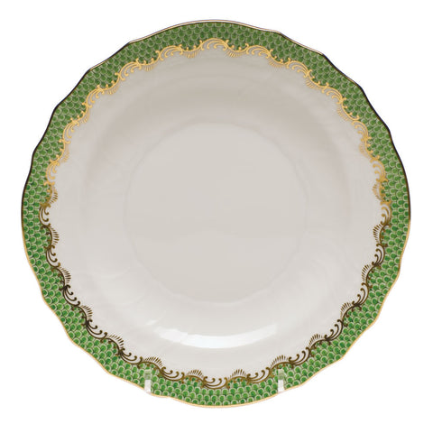 Fish Scale Salad Plate Jade