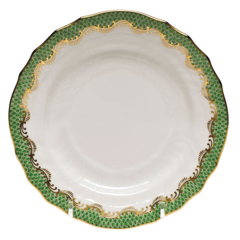 Fish Scale Bread & Butter Plate Jade