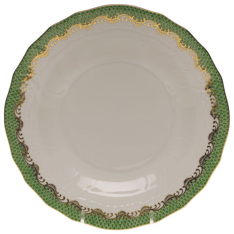 Fish Scale Dessert Plate Brown