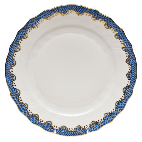 Fish Scale Dinner Plate Blue