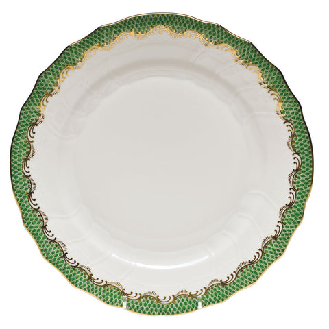 Fish Scale Dinner Plate Jade