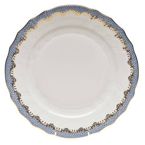 Fish Scale Dinner Plate Light Blue