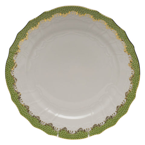Fish Scale Service Plate Evergreen
