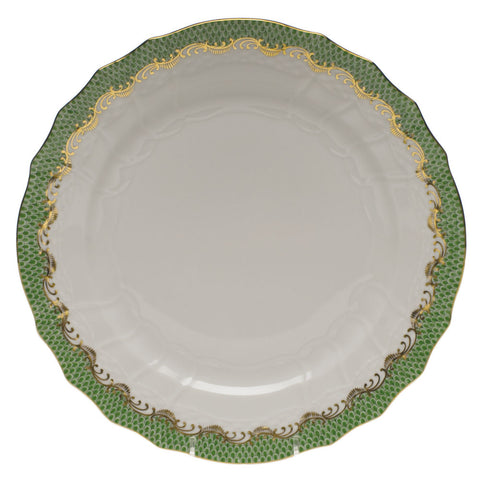 Fish Scale Service Plate Jade