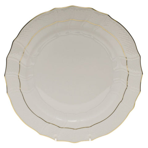 Golden Edge Dinner Plate