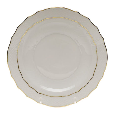 Golden Edge Salad Plate