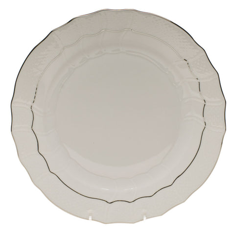 Platinum Edge Dinner Plate