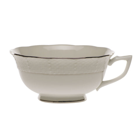 Platinum Edge Tea Cup