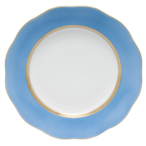 Silk Ribbon Dessert Plate
