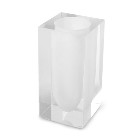 White Hollywood Toothbrush Holder
