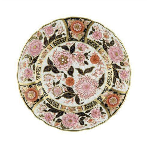 Pink Bouquet Imari Accent Plate