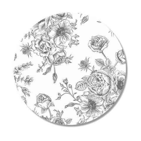 Toile Print Placemat, Set of 4