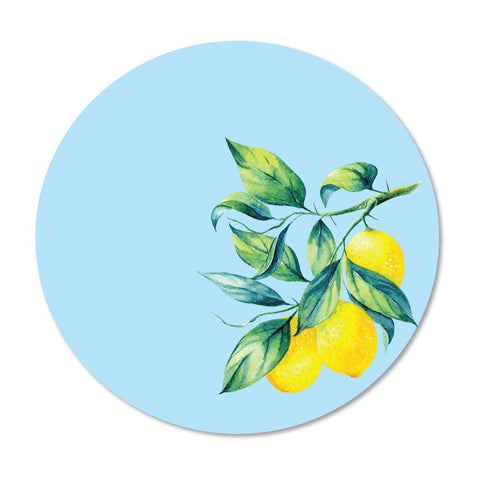 Lemon Plant Placemat, Set of 4