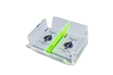 Luxe Canasta Set Neon Green
