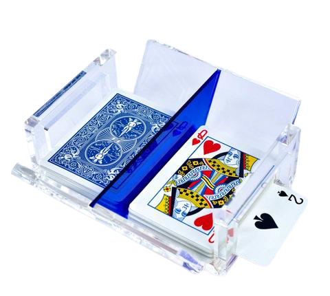 Luxe Canasta Set Blue
