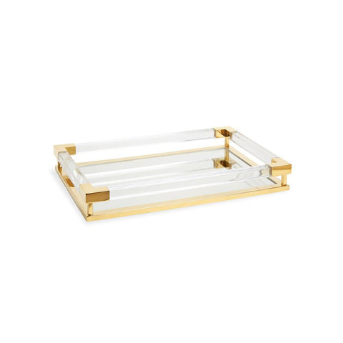 Small Jacques Tray Brass