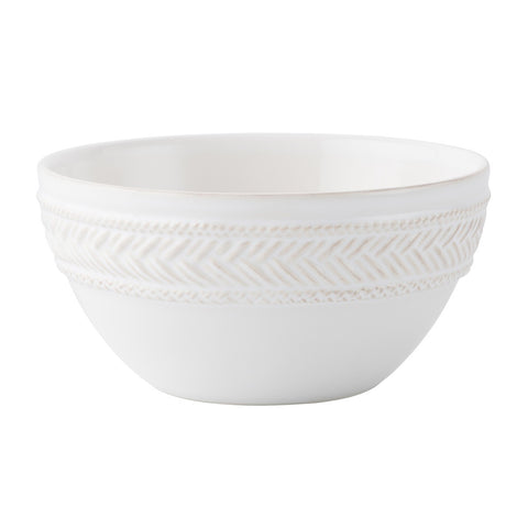 Le Panier Whitewash Cereal/ Ice Cream Bowl