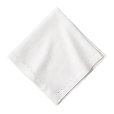 Heirloom Linen White Napkin